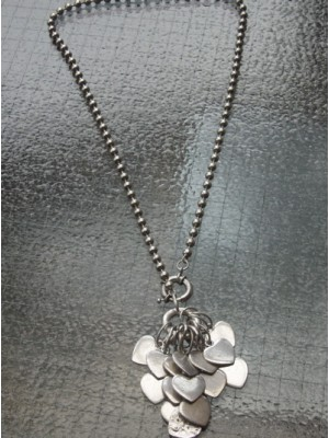 Multiple Hearts Necklace