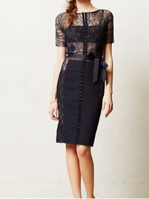 Byron Lars Lace Dress for Anthro